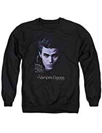 Vampire Diaries Sense Your Body Mens Crew Neck Sweatshirt