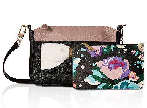 Womens Bow Pouch Betsey Crossbody Black Multi Johnson with wvE5q5nZOS