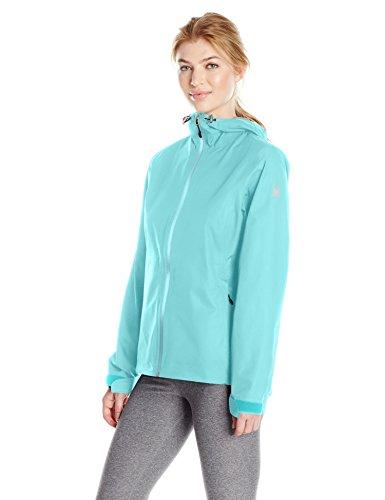 Spyder Women's Pryme 2.5L Rain Shell Jacket, Freeze, Small ()