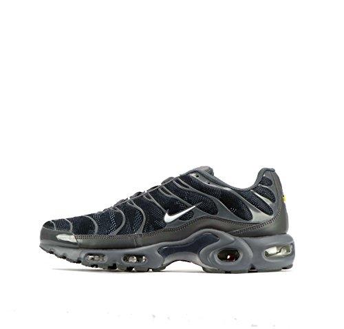 Nike  Nike Air Max Plus, Herren Sneaker grau BLACK/REFLECTIVE SILV