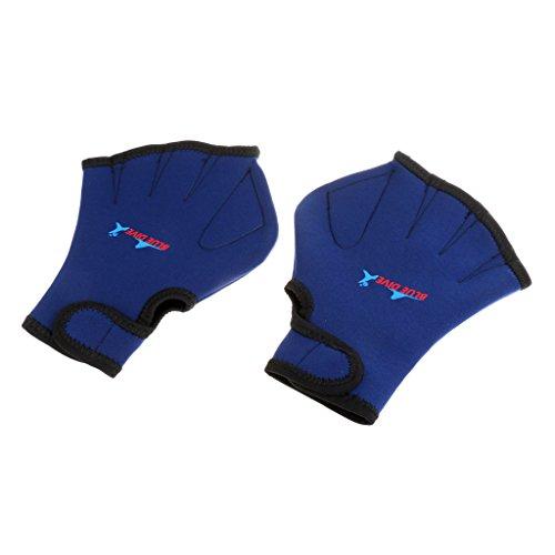 折る小説かなりLovoski ネオプレン 手パドル ハンドウェッブ 手袋 ダイビング トレーニング用 全2色