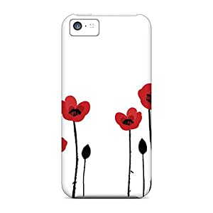 High Quality ConnieJCole Poppi On Line Skin Case Cover Specially Designed For Iphone - 5c