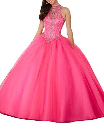 hot pink 15 anos dresses - 7