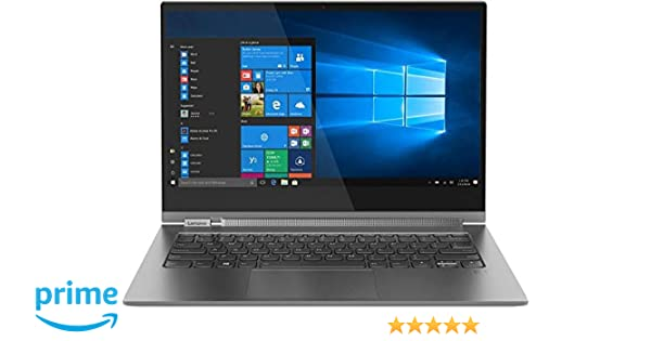 Lenovo Yoga C930-13IKB (Intel Core i5-8250U, 8GB RAM, 256GB SSD) - Iron Grey