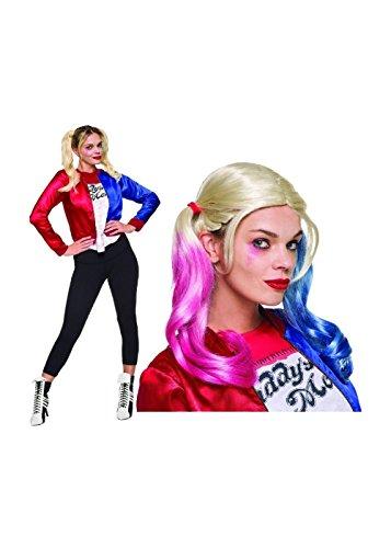 Teen Harley Quinn Wig And Jacket Kit (Large) (Harley Quinn Costume Teen)