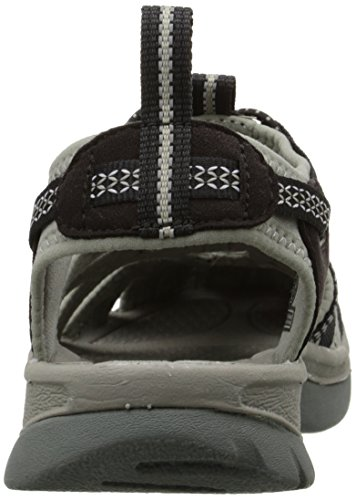 Outdoor neutral Donna 5124 Black Sandali BKGA Grigio Gray Keen WHISPER IaqHORx