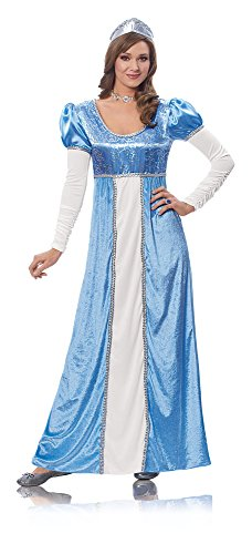 Costume Culture by Franco LLC Womens Medieval Blue Princess Halloween Costume, Large