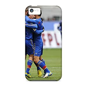 High Impact Dirt/shock Proof Case Cover For Iphone 5c (the Halfback Of Cska Alan Dzagoev And His Team)