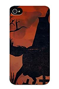 Artistgirl High Quality Shock Absorbing Case For Iphone 4/4s-halloweenu