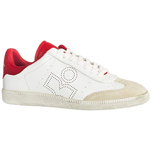 Sneakers Donna Red Isabel White Bryce Marant AUqwwx5R7
