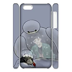 ANCASE Baymax 1 Phone 3D Case For Iphone 5C [Pattern-3]