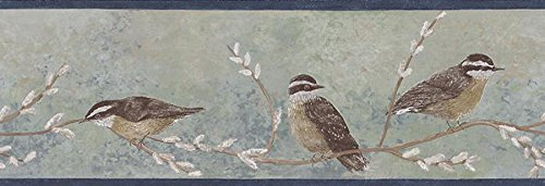 Bird Border (Birds Wallpaper Border CH49079B)
