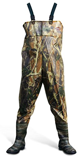 Review Azuki Boot-Foot Chest Waders Waterproof Fishing Hunting Boot Waders – Camouflage