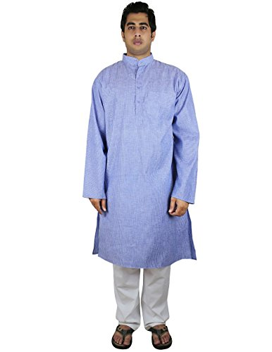 ShalinIndia-Camicia-Casual-Basic-Uomo