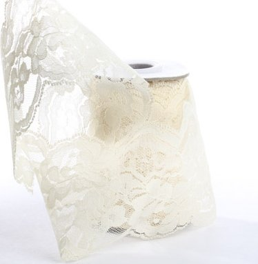 Lace Ribbon in Ivory - 4