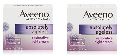 Ageless Restorative - Ageless Restorative Facial Anti-Aging Night Cream, 1.7 Oz, 2 Pack