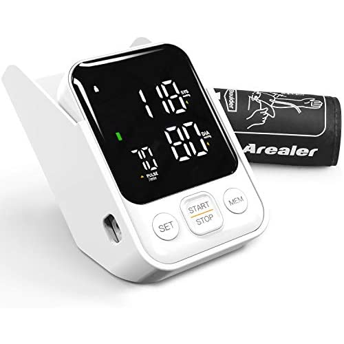 chollos oferta descuentos barato Tensiómetro de Brazo Arealer Monitor de Presión Arterial Digital Automatico con Gran Pantalla 2 Memorias 2 120 para Uso Doméstico