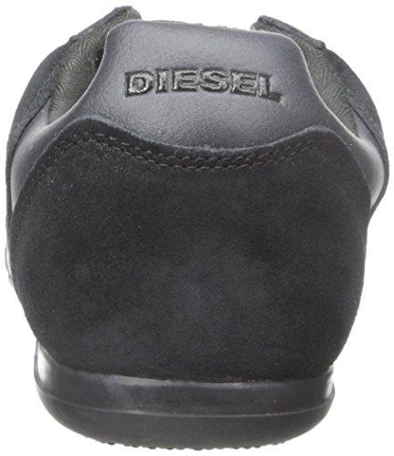 Diesel Mens Prison Wanted Fashion Sneaker Zwart