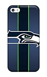 Hot Tpye Seattle Seahawks Case Cover For Iphone 5/5s(3D PC Soft Case)