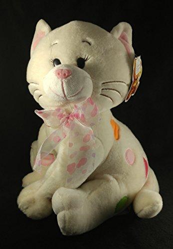 San valentin Gift Beautiful White Plush Cat for Girl sings