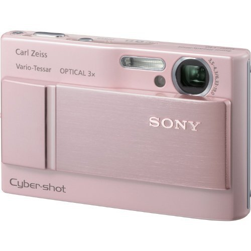 (Sony Cybershot DSC-T10 7.2MP Digital Camera with 3x Optical Steady Shot Zoom (Pink))