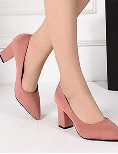vell¨®n negro Uk6 Eu36 Gris Robusto Mujer De Pink Rojo Zq casual tac¨®n Uk4 Eu39 tacones Zapatos us8 Cn39 Gray Cn36 us6 Rosa tacones qzwRaR8x