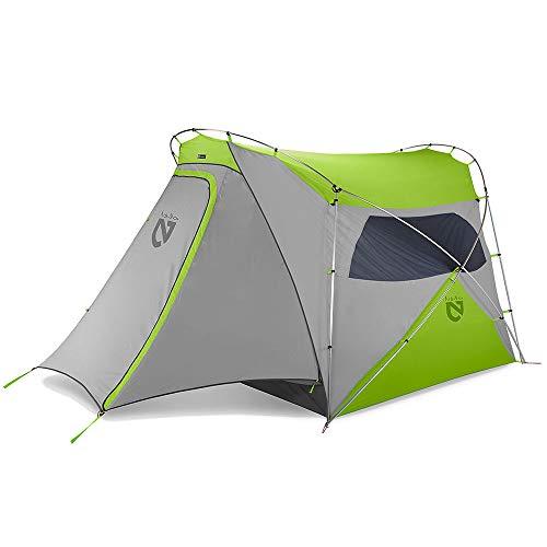 Nemo Wagontop 4P Camping Tent (Granite Grey/Birch Leaf Green)