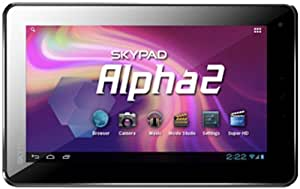 SKYTEX SX-SP715A4 SKYPAD ALPHA 2 ANDROID 4.0 TABLET 4GB WEBCAM ALUMINUM CASE
