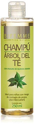 Bifemme Champu arbol del te libre de parabienes - 250 ml