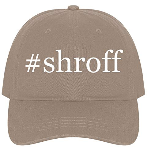 The Town Butler #Shroff - A Nice Comfortable Adjustable Hashtag Dad Hat Cap, Khaki