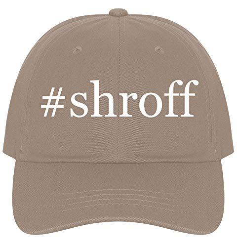 The Town Butler #Shroff - A Nice Comfortable Adjustable Hashtag Dad Hat Cap, Khaki