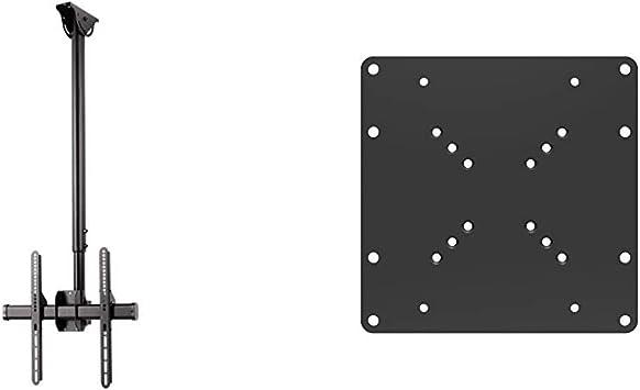 Hama Tv Deckenhalterung Schwenkbar Neigbar Decken Halterung Höhenverstellbar Fernsehhalterung 32 65 Zoll Schwarz Puremounts Pm Adapt A Universeller Vesa Adapter 50x50 Bis 200x200 Schwarz Heimkino Tv Video