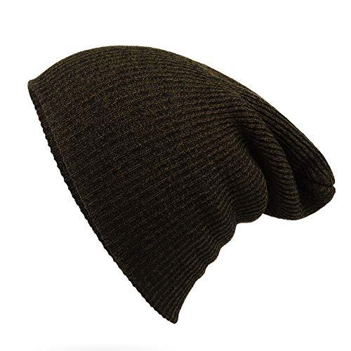 9fbd8110132b1e Kavani Unisex Cuffed Plain Skull Knit Hat Cap Daily Beanie Hat for Men and  Women