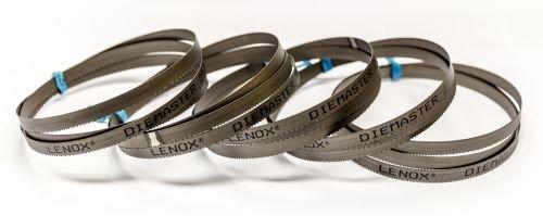 LENOX DIEMASTER Lot de 5 bandes de scie sabre M42 HSS Bimetall 1330 x 13 x 0,65 mm avec 8//12 dents
