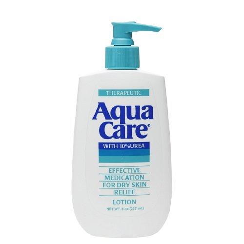 (Aqua Care Lotion For Dry Skin, With 10 Percent Urea - 8 Oz, 2-pack)
