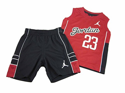 b2a6b842b51b Galleon - Nike Air Jordan Baby Tank-Top & Short, Size 3/6 Months