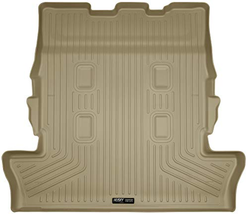 Husky Liners 25343 Tan Weatherbeater Cargo Liner Fits Lexus LX570, 2013-19 Toyota Land Cruiser-with 3rd Row Seats (The Best Land Cruiser Ever Made)