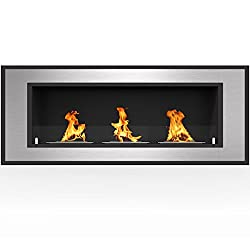 Regal Flame Cynergy Ventless Built In Wall Recessed Bio Ethanol Wall Mounted Fireplace Similar Electric Fireplaces, Gas Logs, Fireplace Inserts, Log Sets, Gas Fireplaces, Space Heaters, Propane by Regal Flame