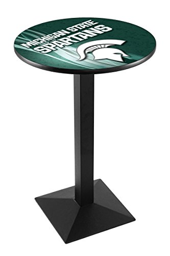 Holland Bar Stool L217B Michigan State University Licensed Pub Table, 36