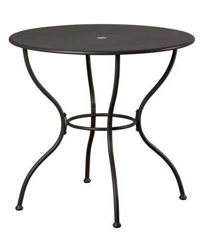 Oak Street Table outdoor round slate gray - OD-31R by Oak Street