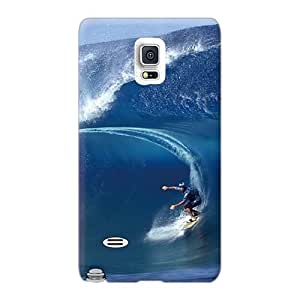 High Quality Hard Phone Case For Samsung Galaxy Note 4 (IYK4910inqn) Customized High Resolution Wind Surf Image