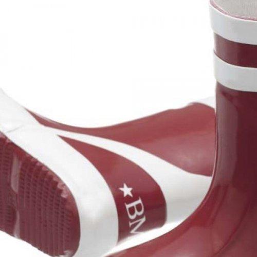 BMS Kindergummistiefel Rot 23