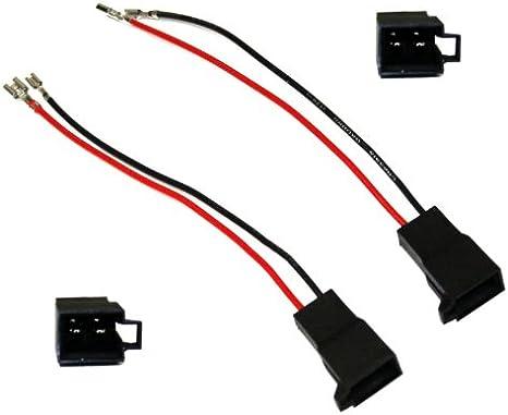 Aerzetix C1853 2 X Lautsprecheradapter Für Auto Auto