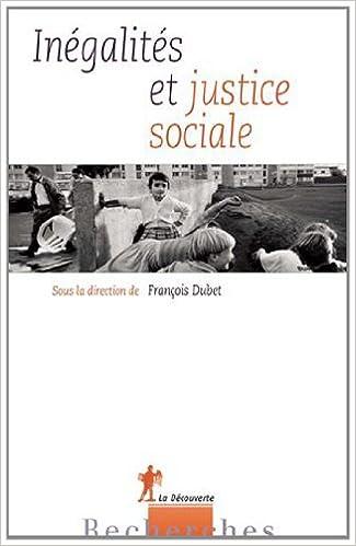 Inégalités et justice sociale pdf
