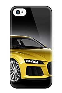 Alison Marvin Feil's Shop Best Top Quality Case Cover For Iphone 4/4s Case With Nice Audi Concept 10 Appearance