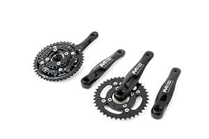 MSC Bikes Freedom Rotation For Tandem - Bielas de ciclismo, color negro