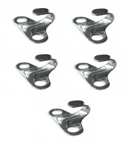 Stainless Steel Lacing Hook Pack 5 H2o Kayaks