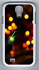 Colorful Light bokeh PC Case Cover for Samsung Galaxy S4 and Samsung Galaxy I9500 White