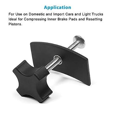A ABIGAIL Disc Brake Pad Spreader Caliper Piston Compressor Tool: Automotive