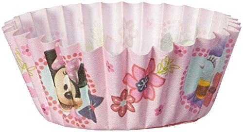 Disney Minnie Mouse Light Pink Cupcake Mini Baking 100 Cups Paper ()